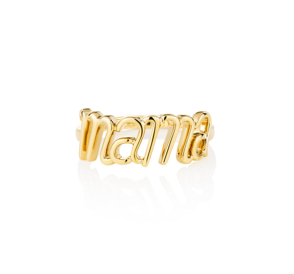 Mama Ring Yellow Gold