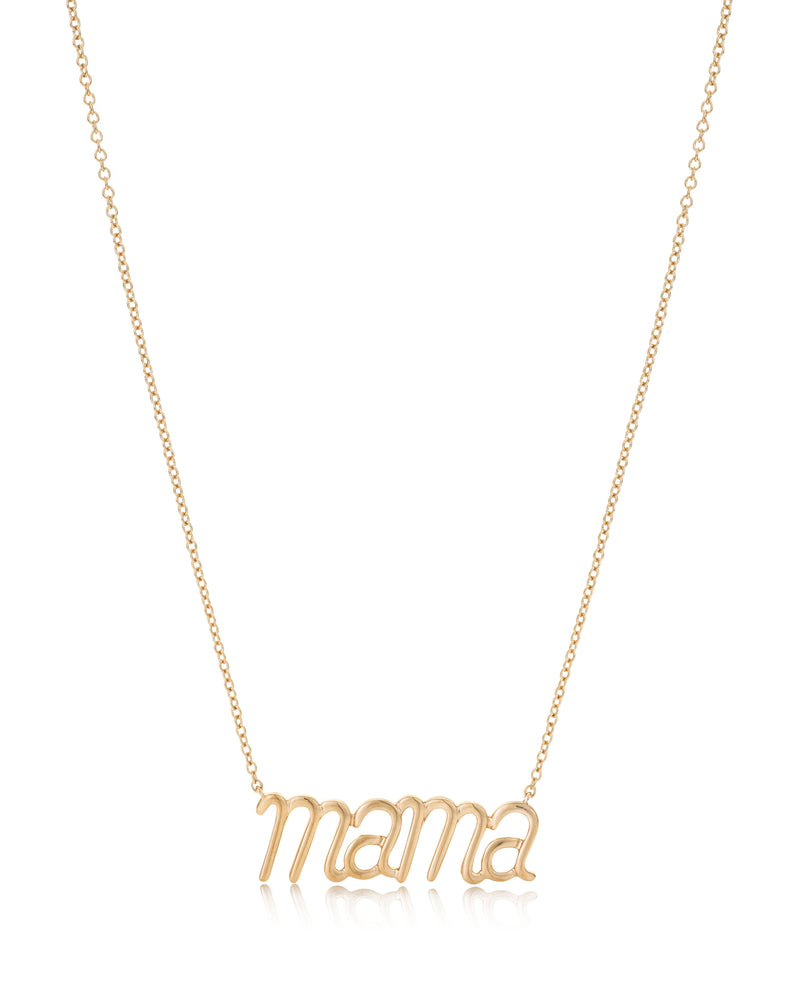 Mama Pendant Rose Gold