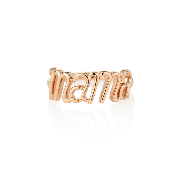 Mama Ring Rose Gold