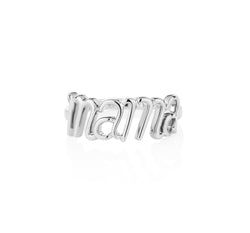 Mama Ring White Gold