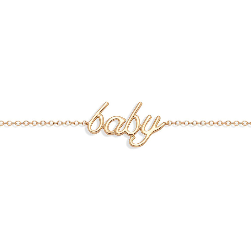 Baby Bracelet Rose Gold from NOA mini