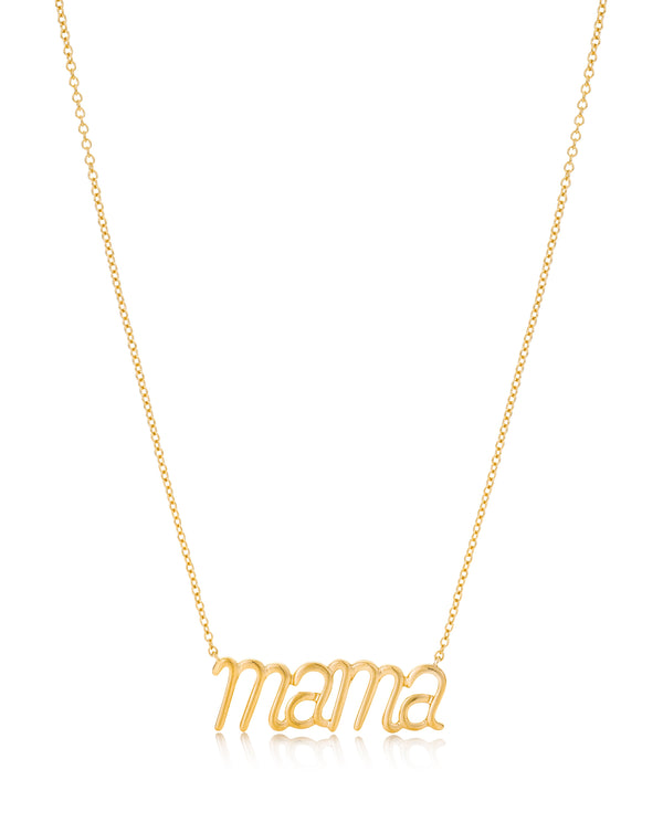 Mama Pendant Yellow Gold