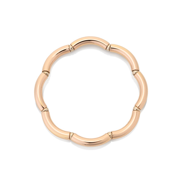 Flexible rose gold ring from NOA