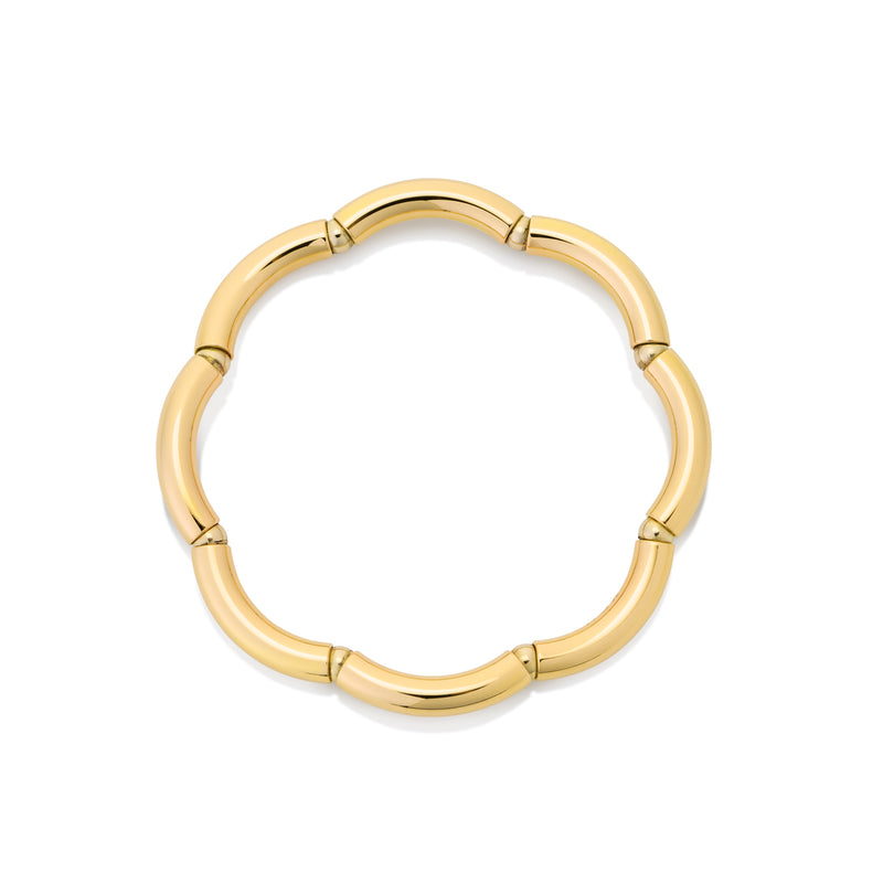 Flexible gold ring from NOA fine jewellery