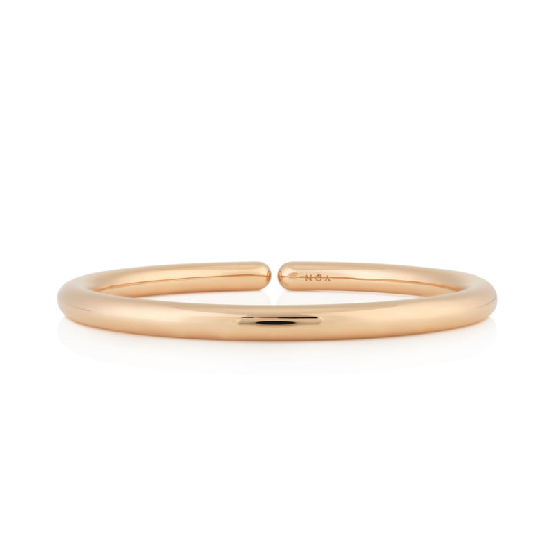 NOA fine jewellery d'Oro Bangle, Rose Gold