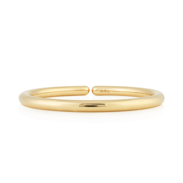 NOA fine jewellery d'Oro Bangle, Yellow Gold
