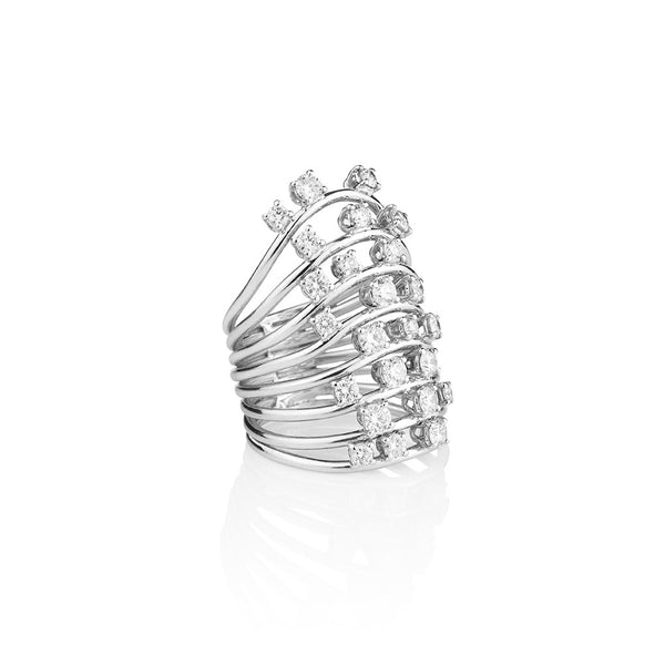 Diamond Ray Ring from NOA fine jewellery
