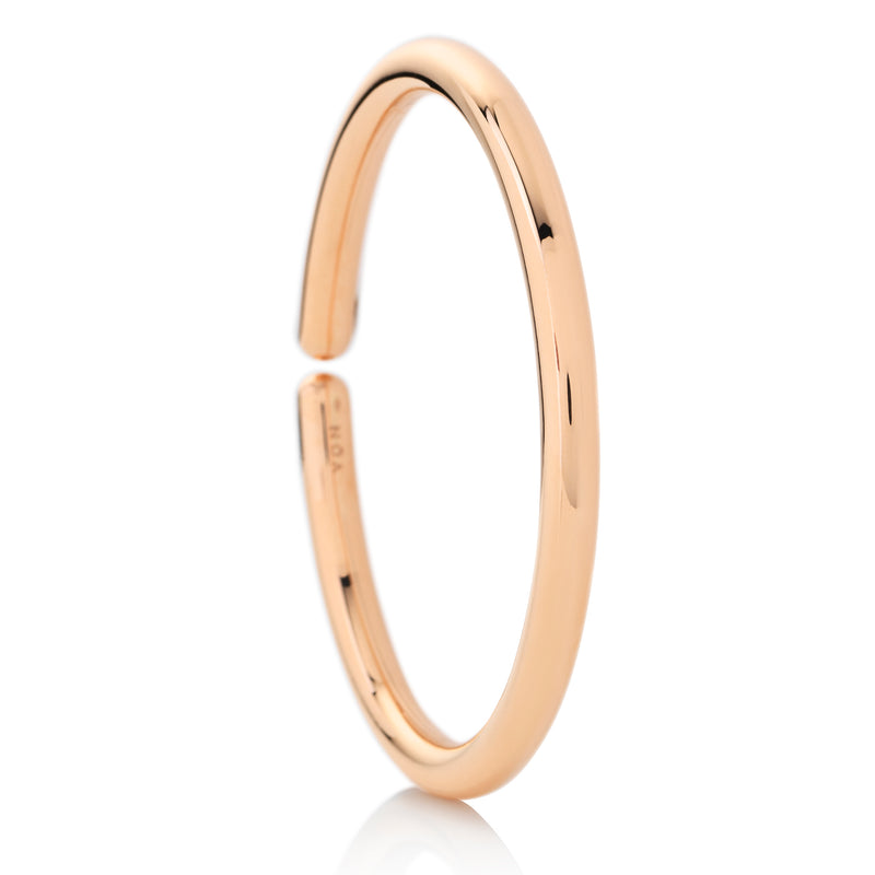 NOA fine jewellery d'Oro rose gold bangle