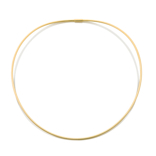 d'Oro 18 karat yellow gold choker from NOA fine jewellery