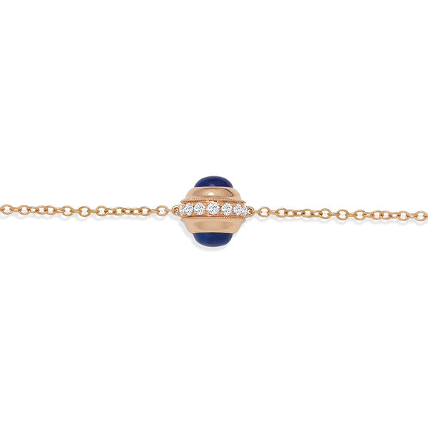 NOA mini Evil Eye Mama Bracelet in Rose Gold