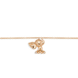 Elephant Bracelet Rose Gold from NOA mini the perfect jewellery gift for a baby