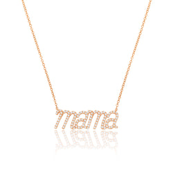 NOA mini Mama Pendant Rose Gold