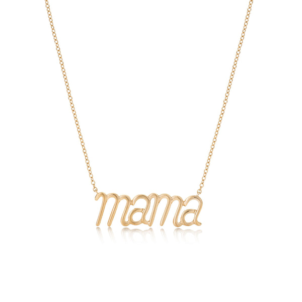 personalised rose gold necklace from noa