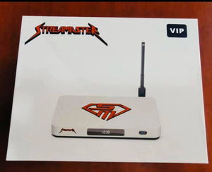 StreaMaster VIP 2020 4K Streaming Box - Cord Cutting Revolution