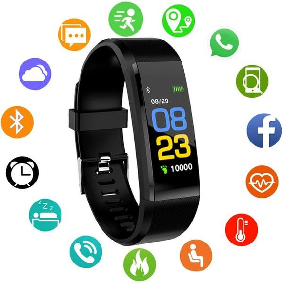 Pulseira Smartwatch Infantil Digital LED