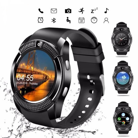 Smartwatch V8 Bluetooth Touch Screen - Android
