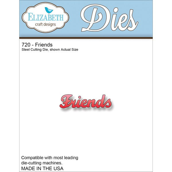 Elizabeth Craft Designs - Dies - Friends