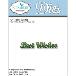Elizabeth Craft Designs - Dies - Best Wishes