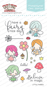 The Greeting Farm - Clear Stamps - Little Fairies (Ships Nov 18)
