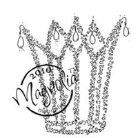 Magnolia Stamps - Wedding Collection - Bridal Crown #249
