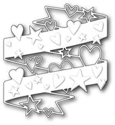 Poppystamps - Dies - Hearts and Stars Wrap