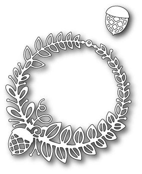 Poppystamps - Dies - Grendon Wreath