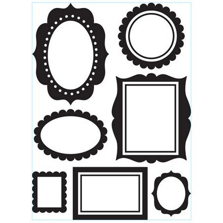 Darice - Embossing Folder - Wall Frames