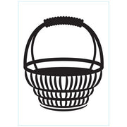 Darice - Embossing Folder - Basket With Handle