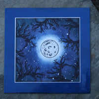 Fairy Hugs Stamps - Moon Tree