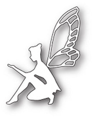 Poppystamps -Dies - Thoughtful Faerie
