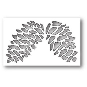 Poppystamps - Dies - Double Pinecone Collage
