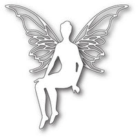 Poppystamps - Dies - Perched Faerie