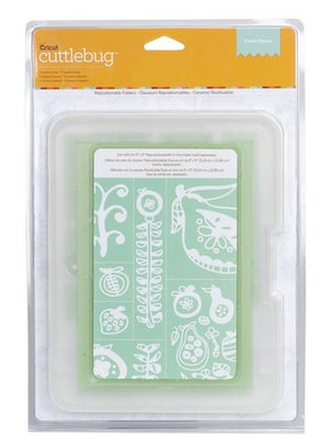 Closeout - Cuttlebug - Repositionable Embossing Folders  - Fruit Punch