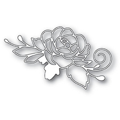 Poppystamps - Dies - Blooming Rose