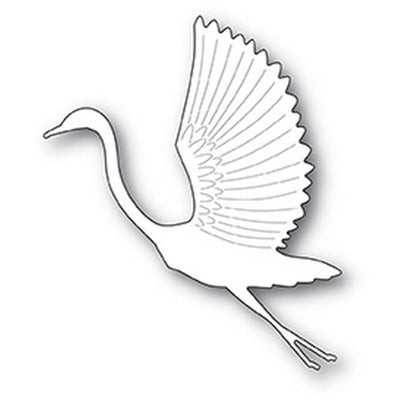 Poppystamps - Dies - Graceful Heron