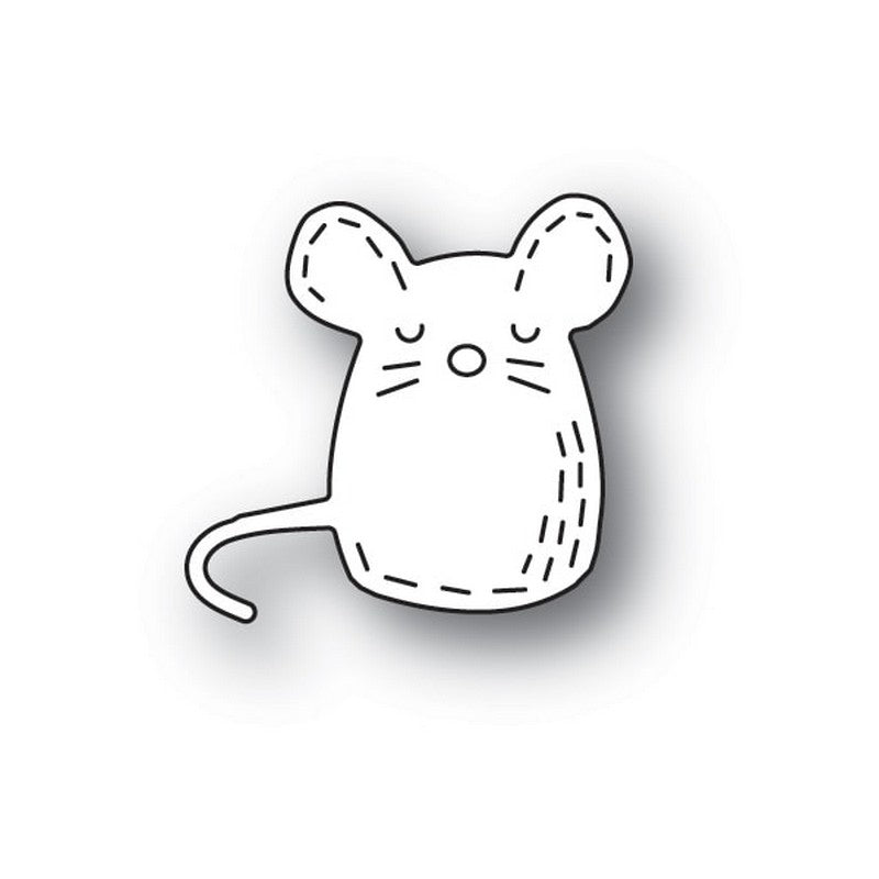 Poppystamps - Dies - Whittle Mouse