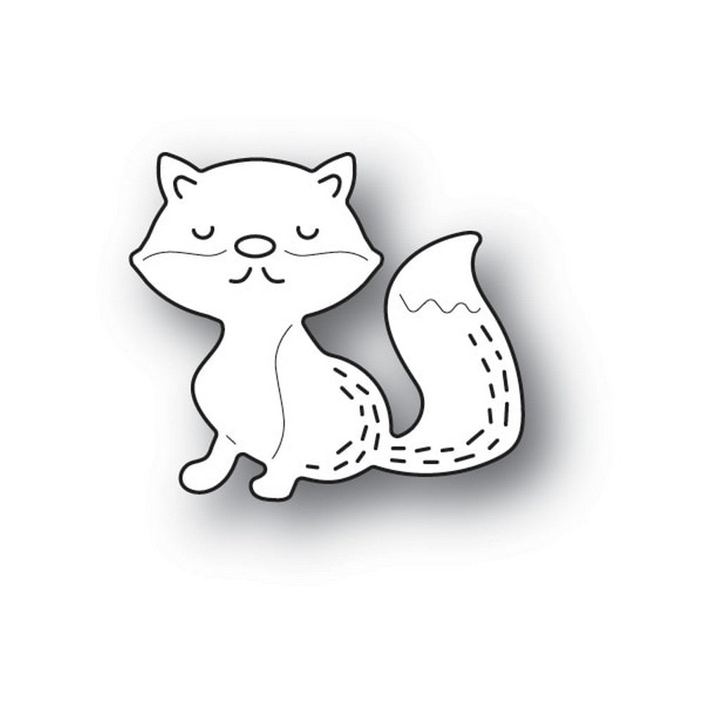 Poppystamps - Dies - Whittle Sleepy Fox