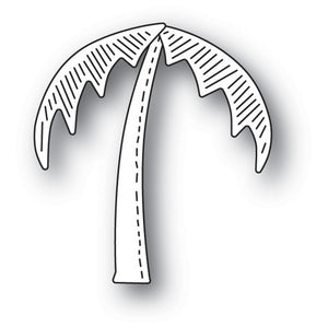 Poppystamps - Dies - Whittle Palm Tree