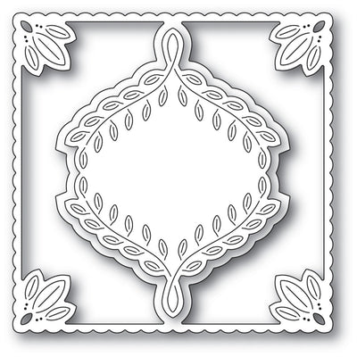 Poppystamps - Dies - Leafy Ornament Frame