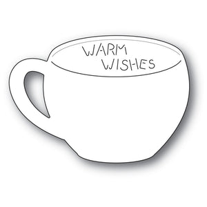 Poppystamps - Dies - Warm Wishes Gift Card Cup