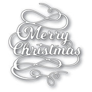Poppystamps - Dies - Merry Christmas Flourish
