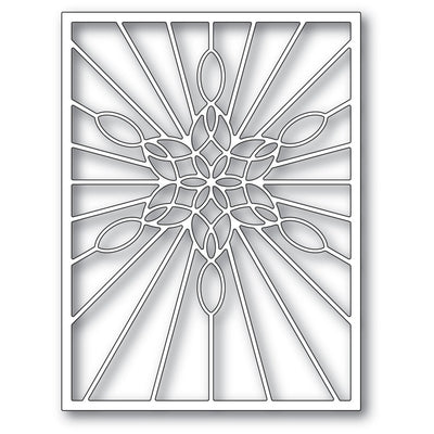 Poppystamps - Dies - Stained Glass Snowflake Window