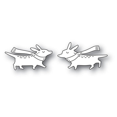Poppystamps - Dies - Whittle Corgis