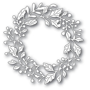 Poppystamps - Dies - Adriana Wreath