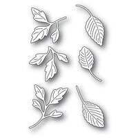 Poppystamps - Dies - Orchard Leaves