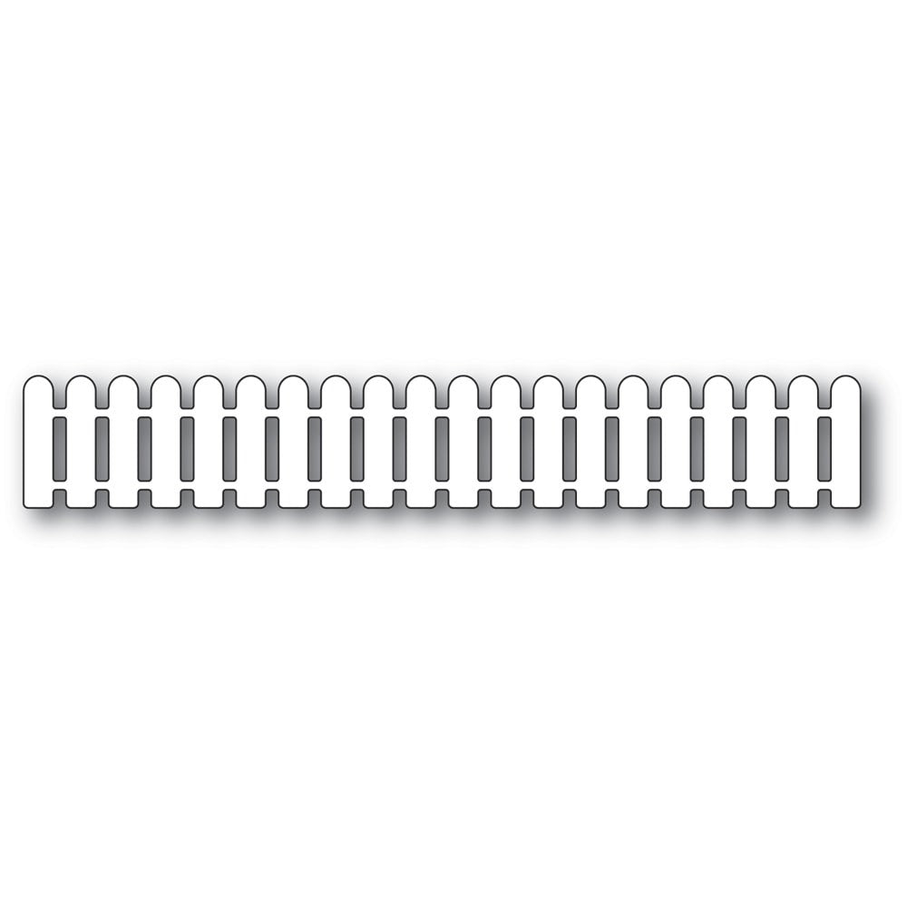 Poppystamps - Dies - Cottage Picket Fence