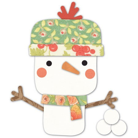 Memory Box - Dies - Open Studio - Wonderland Snowman