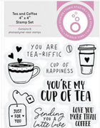 Tonic Studios - Clear Stamps - Tea & Coffee