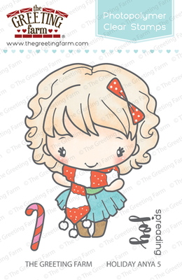 The Greeting Farm - Clear Stamps - Holiday Anya 5 (Ships Nov 18)