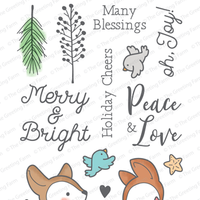 The Greeting Farm - Clear Stamps - Merry & Bright (Ships Nov 18)